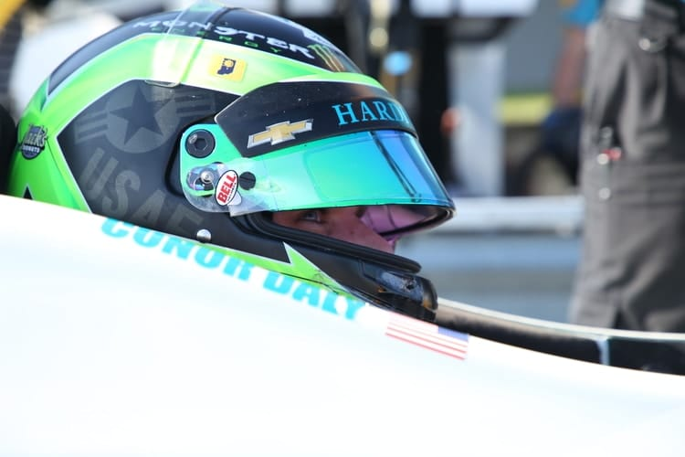 Conor Daly (USA), Verizon IndyCar Series, 2018, Mid-Ohio, Harding Racing