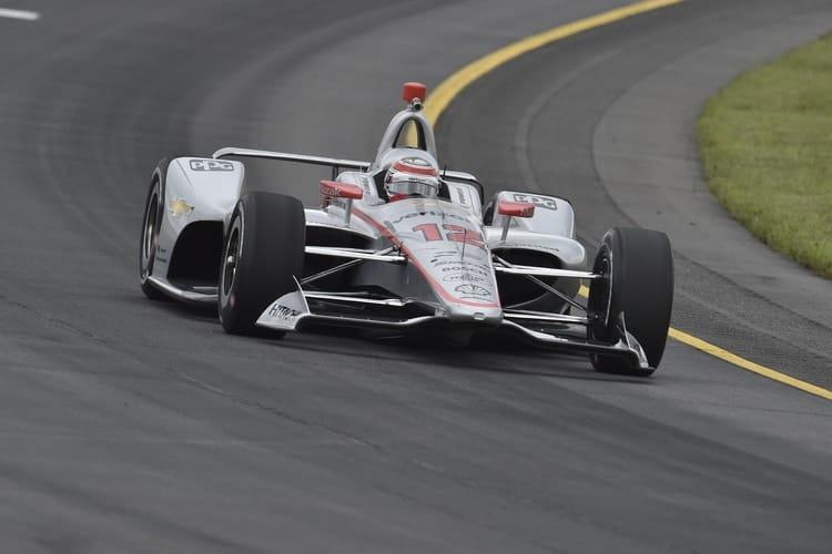 Will Power (AUS), Team Penske, Pocono Raceway, 2018 Verizon IndyCar Series Qualifying