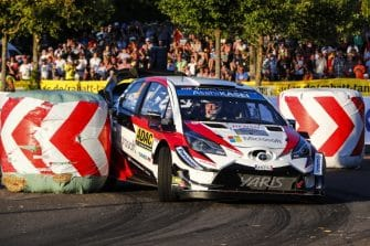 FIA World Rally Championship 2018 / Round 09 / Rallye Deutschland 2018 / August 16-19, 2018 // Worldwide Copyright: Toyota Gazoo Racing WRC
