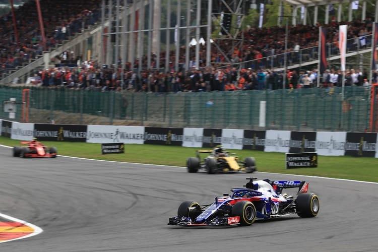 Red Bull Toro Rosso Honda - Belgian Grand Prix - F1