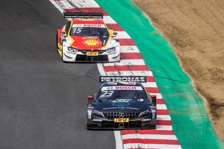 2018 DTM Series: Brands Hatch - Dani Juncadella and Augusto Farfus
