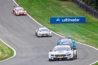 Paul di Resta, Gary Paffett, Pascal Wehrlein and René Rast: 2018 DTM Series - Brands Hatch