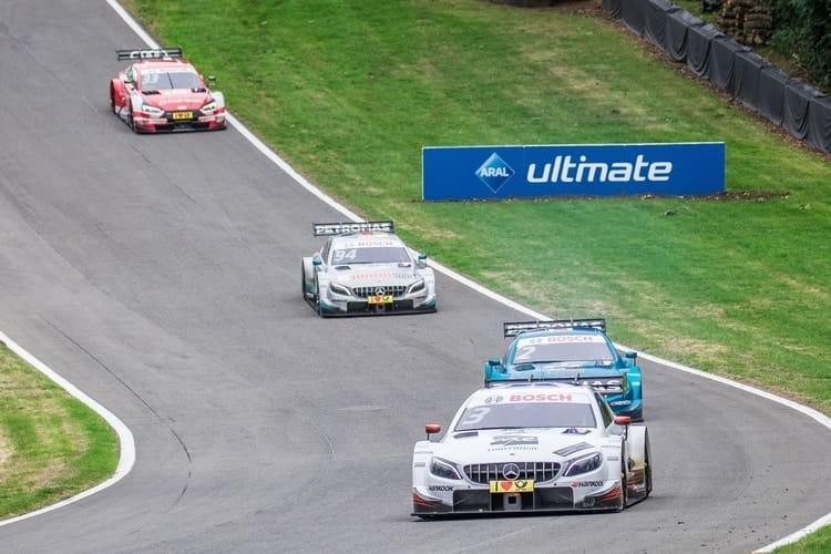 Paul di Resta, Gary Paffett, Pascal Wehrlein and René Rast: 2018 DTM Series - Brands Hatch
