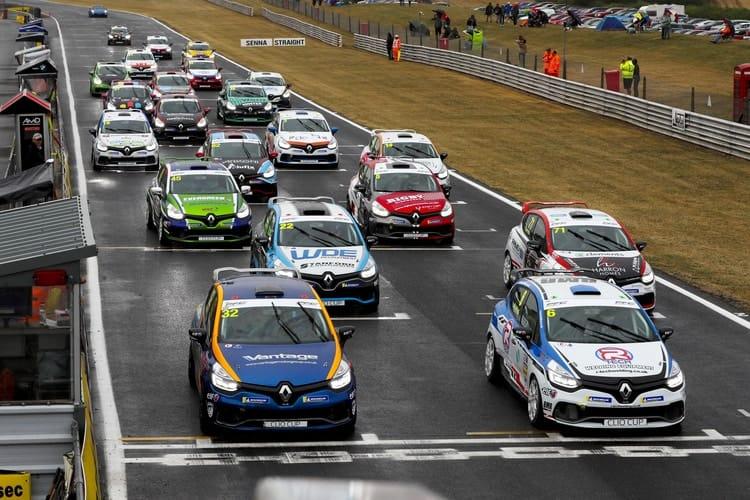 Snetterton Renault UK Clio Cup