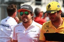 Fernando Alonso & Carlos Sainz Jr. - Formula 1 - 2018 Hungarian GP