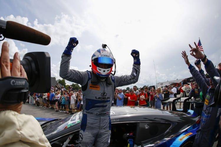 #14 3GT Racing Lexus RCF GT3, GTD: Dominik Baumann, Kyle Marcelli, Winners