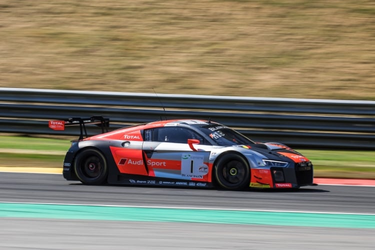 Belgian Audi Club Team WRT, Audi R8 LMS, GT3, #1, Alex Riberas, Christopher Mies, Dries Vanthoor, Total 24 Hours of Spa Spa Francorchamps Spa Belgium © Craig Robertson