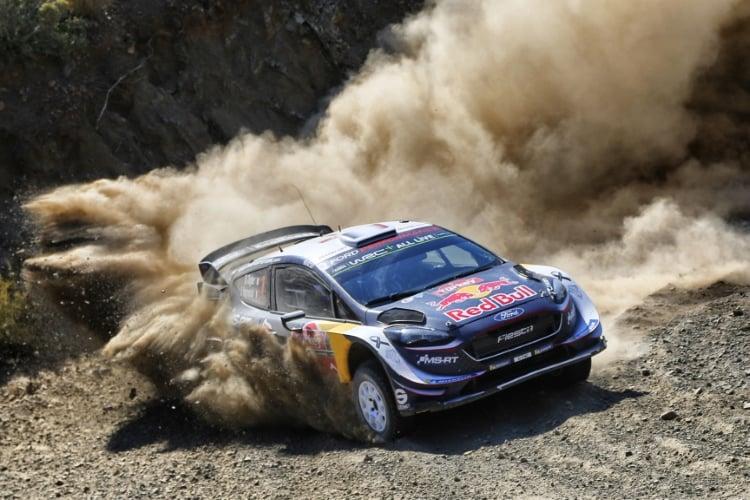 Sebastien Ogier - Ford Fiesta WRC Rally Turkey - Day Three