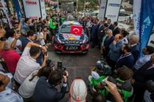 2018 FIA World Rally Championship Round 10, Rally Turkey 13-16 september 2018 Andreas Mikkelsen, Anders Jaeger, Hyundai i20 Coupe WRC Photographer: Fabien Dufour Worldwide copyright: Hyundai Motorsport GmbH