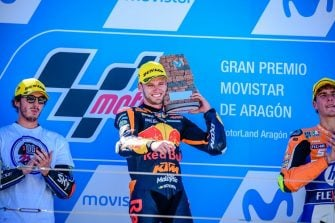 Brad Binder - Photo Credit: KTM