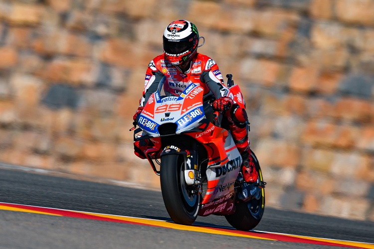 Lorenzo Snatches Last Gasp Pole at Aragon - The Checkered Flag 54c3dce9f66