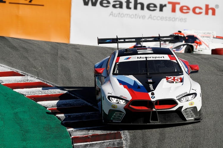 Alexander Sims & Connor De Phillippi - BMW Team RLL - Continental Monterey Grand Prix - Laguna Seca