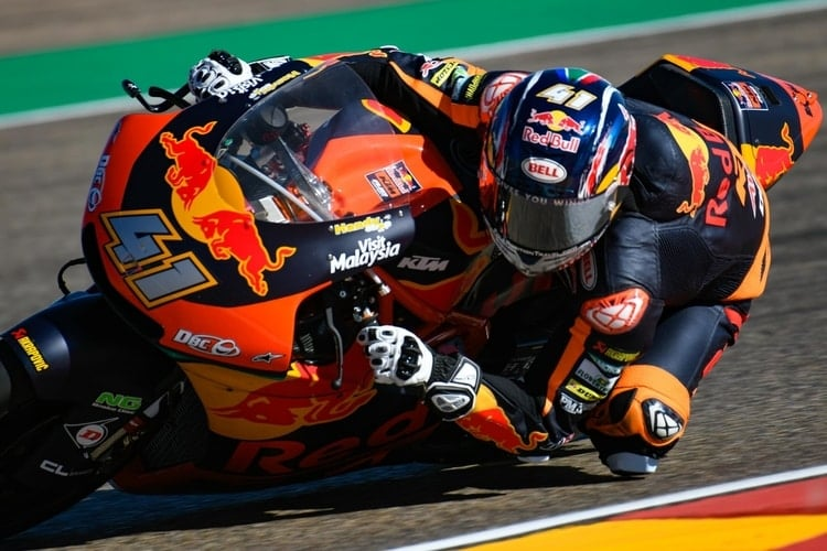 Brad Binder Aragon Test 2018