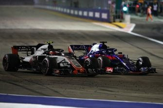 Brendon Hartley - Singapore Grand Prix - F1