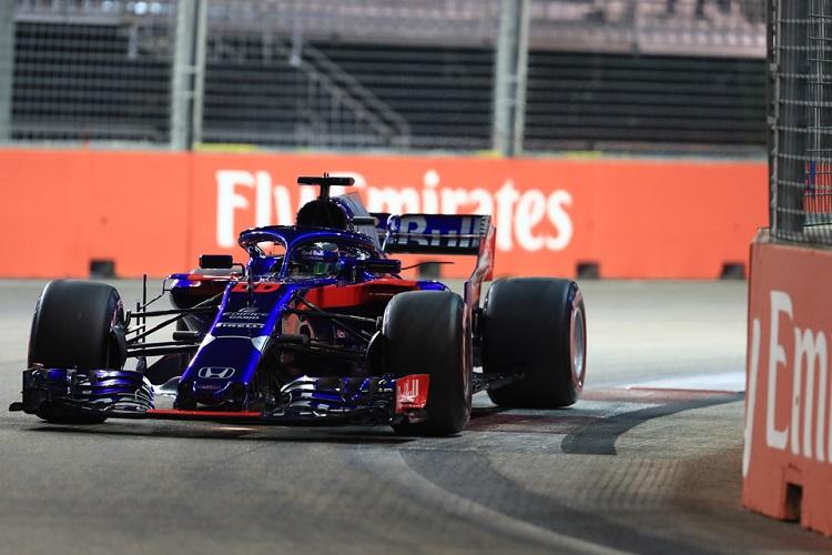 Brendon Hartley - Red Bull Toro Rosso Honda - Marina Bay Street Circuit