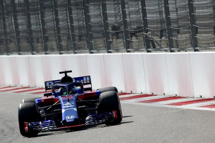 Brendon Hartley - Red Bull Toro Rosso Honda - Sochi Autodrom