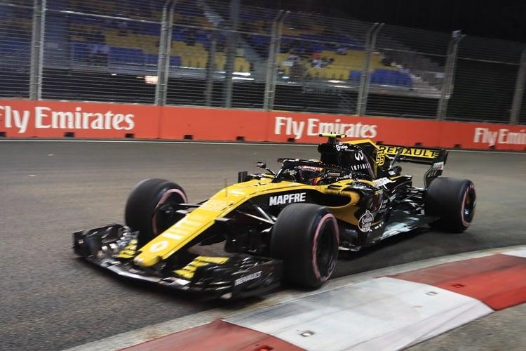 Carlos Sainz Jr. - Renault Sport Formula One Team - Marina Bay Street Circuit