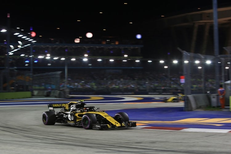 Carlos Sainz Jr. - Singapore Grand Prix - F1