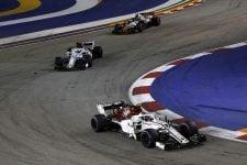 Charles Leclerc & Marcus Ericsson - Alfa Romeo Sauber F1 Team - Marina Bay Street Circuit