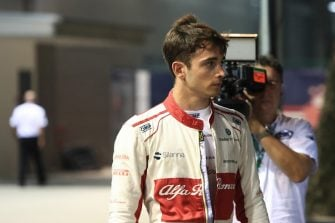 Charles Leclerc - Alfa Romeo Sauber F1 Team - Marina Bay Street Circuit