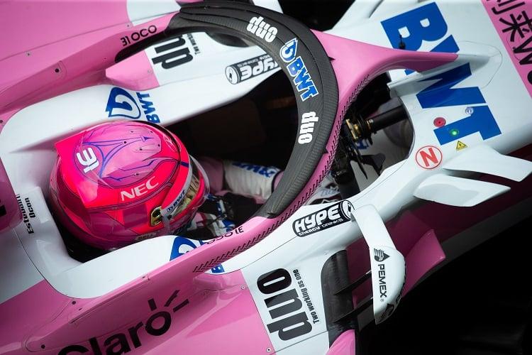 Esteban Ocon - Racing Point Force India F1 Team - Autodromo Nazionale Monza