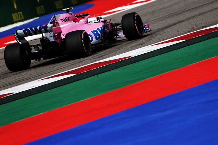 Esteban Ocon - Racing Point Force India F1 Team - Sochi Autodrom