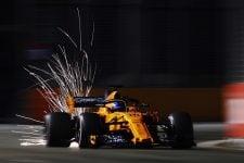 Fernando Alonso - McLaren F1 Team - Marina Bay Street Circuit