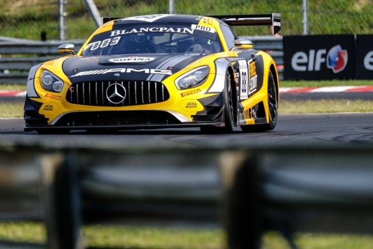 #88 AKKA ASP Team FRA Mercedes-AMG GT3 - Michael Meadows GBR Raffaele Marciello ITA, Qualifying | SRO / Dirk Bogaerts Photography