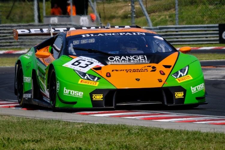 #63 GRT Grasser Racing Team AUT Lamborghini Huracan GT3 - Christian Engelhart DEU Mirko Bortolotti ITA, Free Practice 1   SRO / Dirk Bogaerts Photography