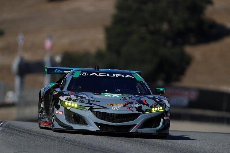Katherine Legge & Alvaro Parente - Meyer Shank Racing - Continental Monterey Grand Prix - Laguna Seca