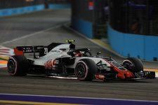 Kevin Magnussen - Haas F1 Team - Marina Bay Street Circuit