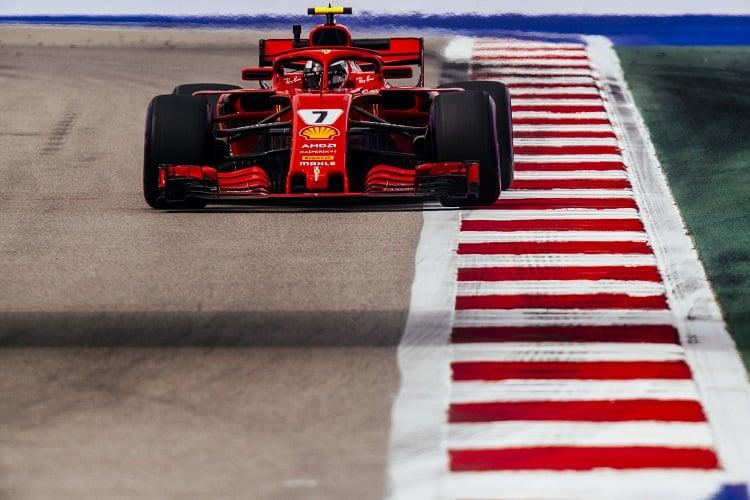 Kimi Räikkönen - Scuderia Ferrari - Sochi Autodrom