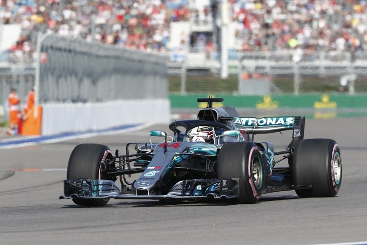 Lewis Hamilton - Mercedes AMG Petronas Motorsport - Sochi Autodrom