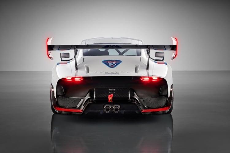 2019 Porsche 935 rear shot