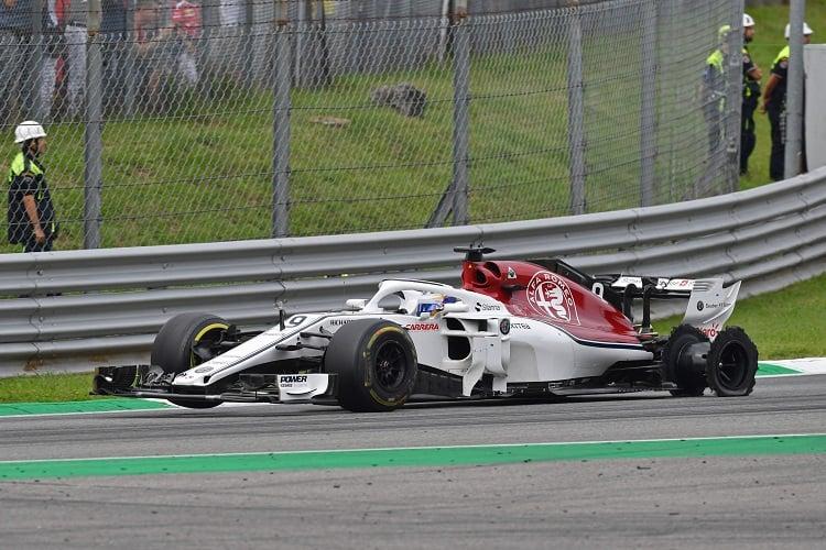 Marcus Ericsson - Alfa Romeo Sauber F1 Team - Autodromo Nazionale Monza