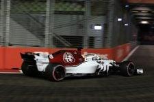 Marcus Ericsson - Alfa Romeo Sauber F1 Team - Marina Bay Street Circuit