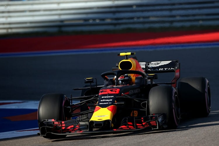 Max Verstappen - Russian Grand Prix - F1