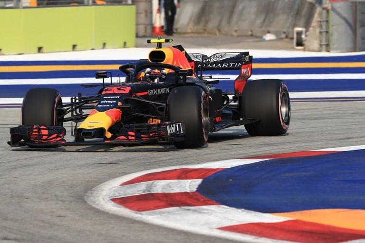 Max Verstappen - Singapore Grand Prix - F1