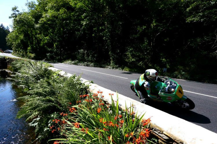 McGuinness at the Classic TT