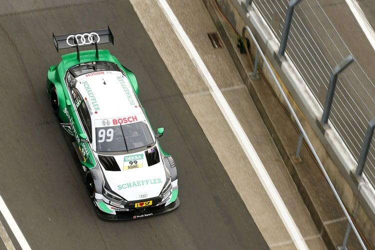 Mike Rockenfeller, Audi Sport Team Phoenix, Nurburgring
