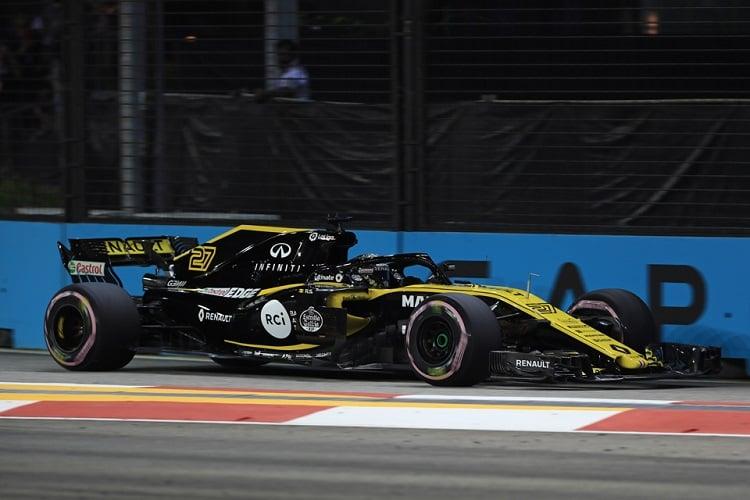 Nico Hülkenberg - Renault Sport Formula One Team - Marina Bay Street Circuit