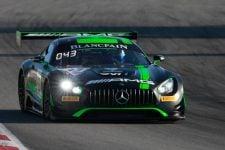 #43 Mercedes-AMG Team Strakka Racing GBR Mercedes-AMG GT3 - Maxi Buhk DEU Alvaro Parente PRT Maxi Goetz DEU, Free Practice | SRO / Patrick Hecq Photography