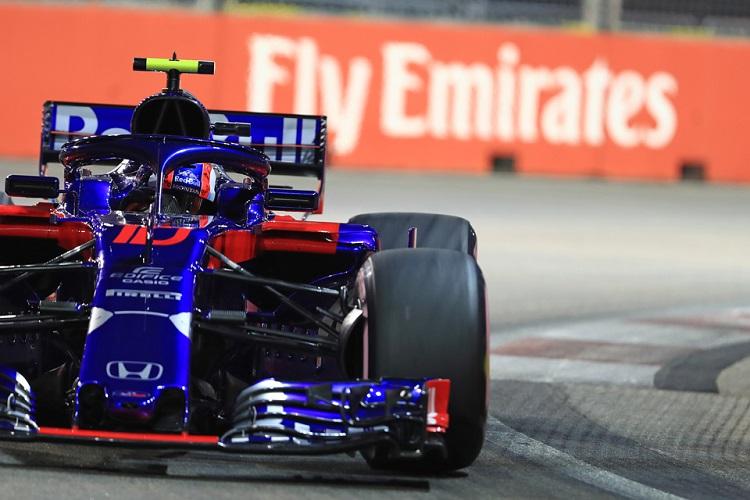 Pierre Gasly - Red Bull Toro Rosso Honda - Marina Bay Street Circuit