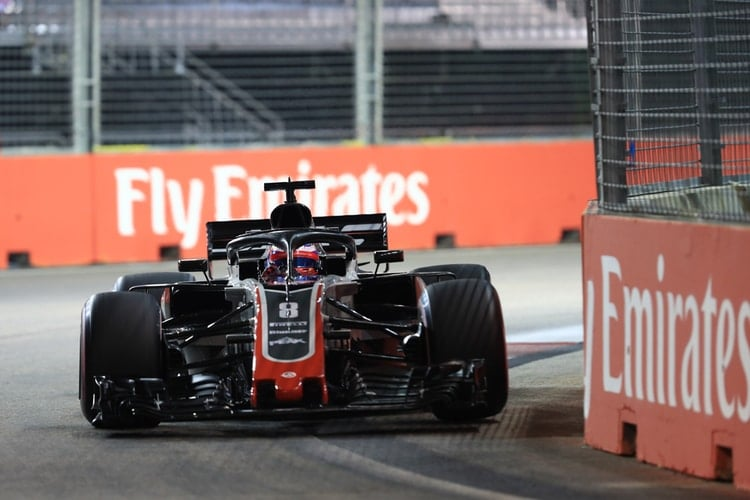 Romain Grosjean - Singapore Grand Prix - F1