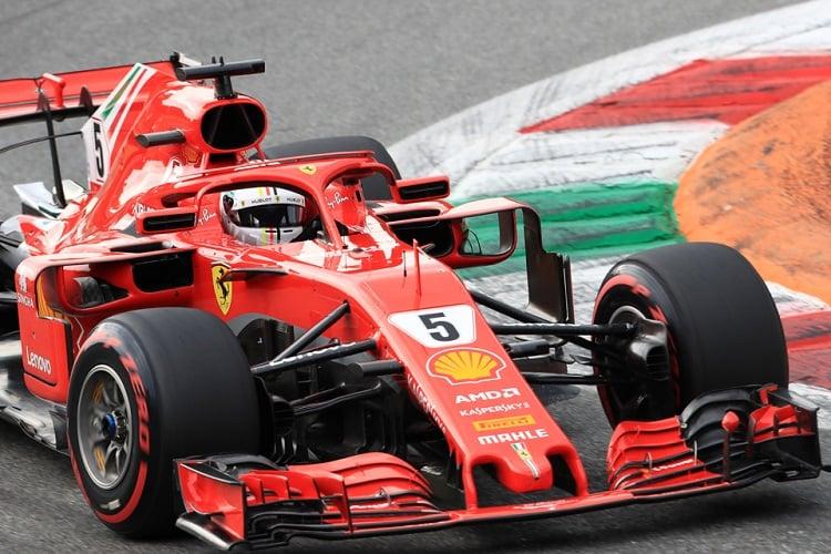 Sebastian Vettel - Scuderia Ferrari - Autodromo Nazionale Monza