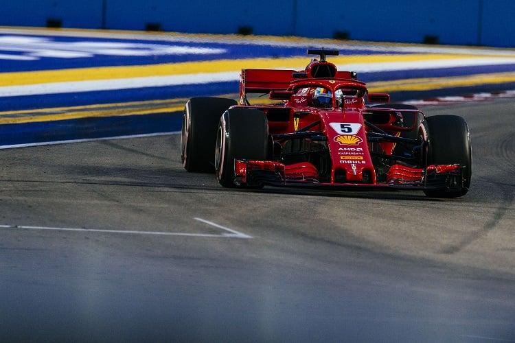 Sebastian Vettel - Scuderia Ferrari - Marina Bay Street Circuit