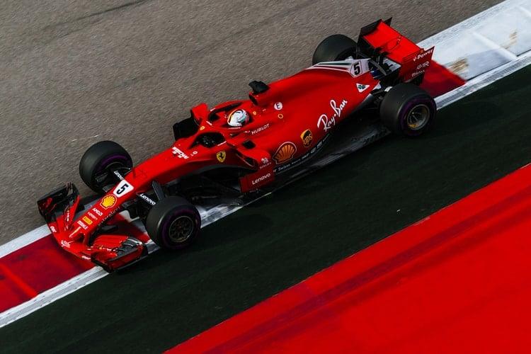 Sebastian Vettel - Russian Grand Prix - F1
