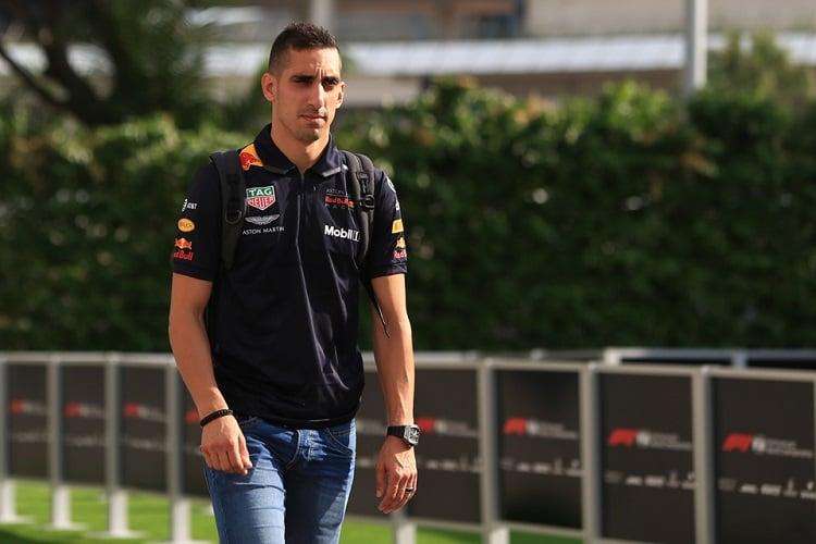 Sébastien Buemi - Aston Martin Red Bull Racing/Red Bull Toro Rosso Honda Reserve Driver - Marina Bay Street Circuit
