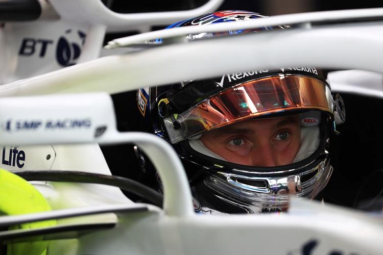 Sergey Sirotkin - Williams Martini Racing - Marina Bay Street Circuit