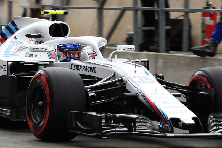 Sergey Sirotkin - Williams Martini Racing - Spa-Francorchamps